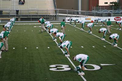 High School Football - Van Buren Pointers at Bentonville Tigers - Homecoming - 10/12/2007