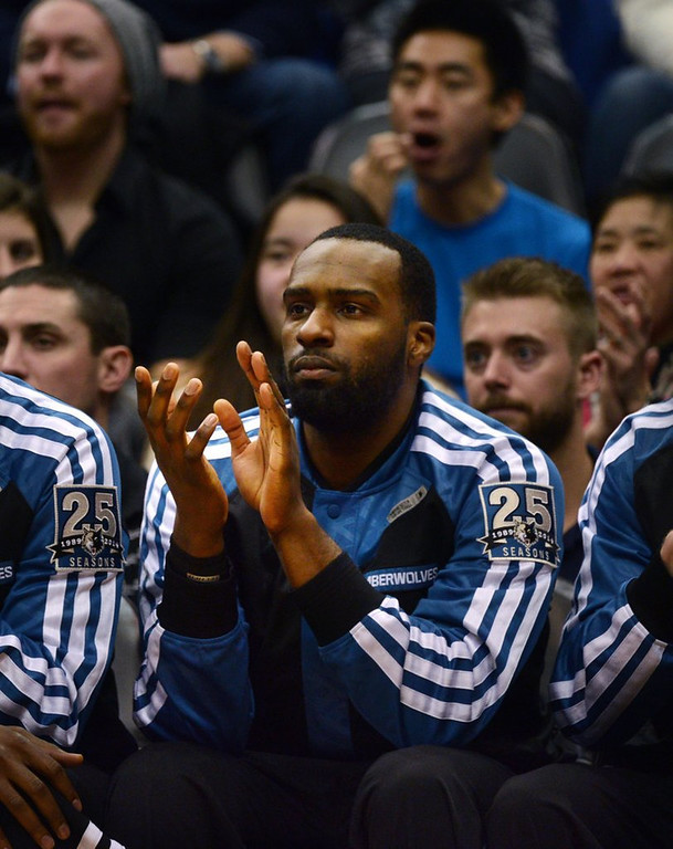 """. <p><b> The Timberwolves have sent seldom-used Shabazz Muhammad to their D-League team in Iowa, where the rookie forward says he plans to � </b> <p> A. �Play hard� <p> B. �Practice hard� <p> C. �Pout hard� <p><b><a href=\'http://www.twincities.com/timberwolves/ci_24846139/timberwolves-shabazz-muhammad-says-he-will-play-hard\' target=\""""_blank\"""">HUH?</a></b> <p>    (Pioneer Press: Chris Polydoroff)"""