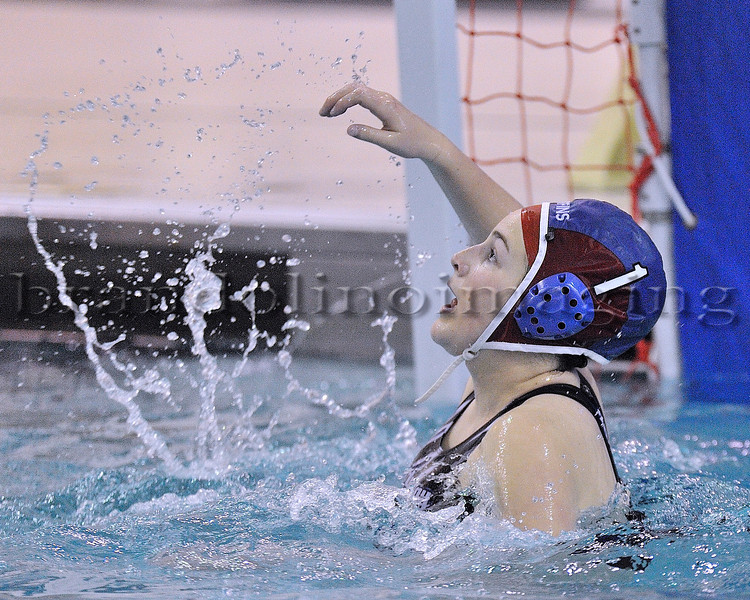 Lincoln-Way East Girls Water Polo (4-9-13)