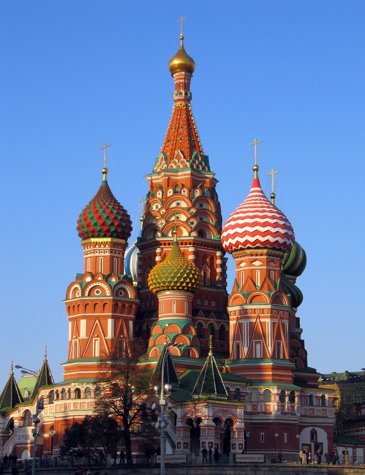St Basil's Cathedral - Moscow [Russia]