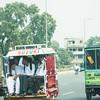 Full rickshaws (the name used in Pakistan)