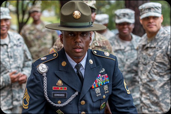 Drill Sergeant Edwards