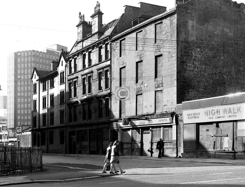 College St, north side.    June 1974
