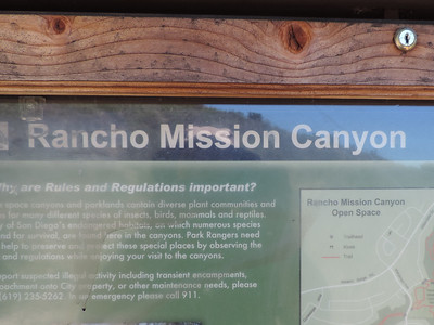 Rancho Mission Canyon Park 4-03-2014