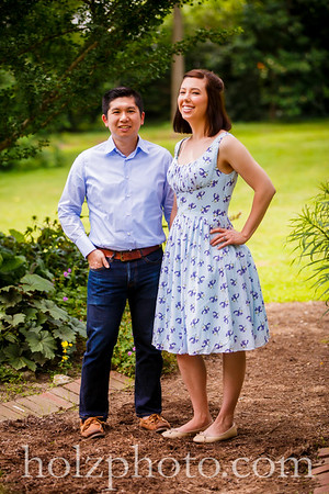 Laura & Patrick Color Engagement Photos