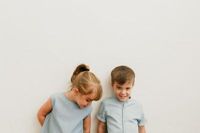 Sofía y Guillermo. 4 años