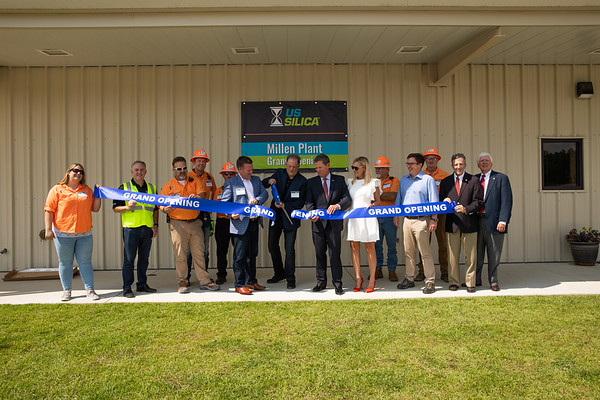 09.12.19_U.S. Silica Millen plant Grand Opening