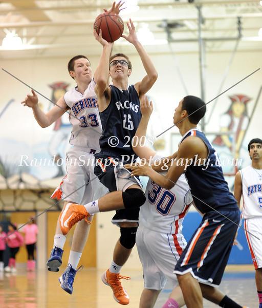 Briar Woods @ Park View (Varsity) -- 01/26/2013