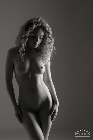 Ivory Flame - Pavilion Photographic Studio Art Nude Photography Workshop - 2014-08-31