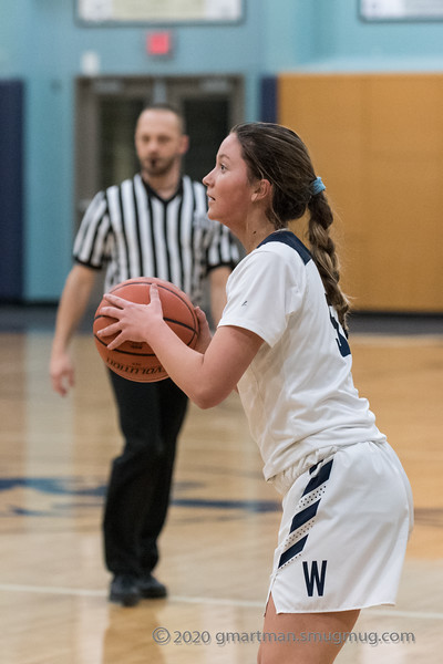 2020 Girls JV Basketball vs. La Salle