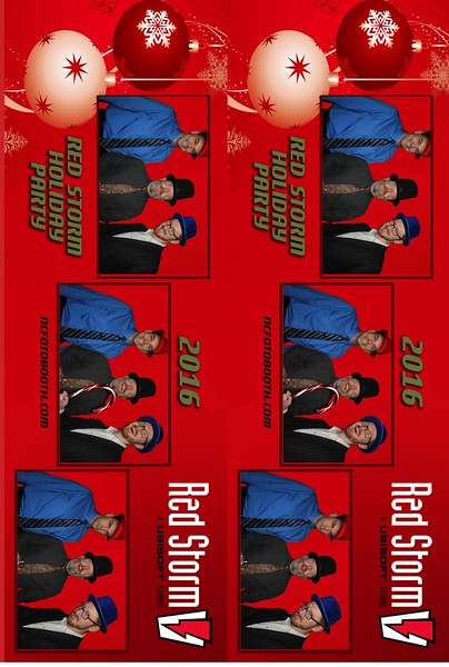 Red Storm Photo Strips