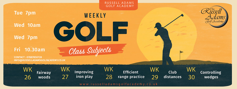 Golf Adult Subjects flyer russell adams gold academy By Aniko Towers.jpg