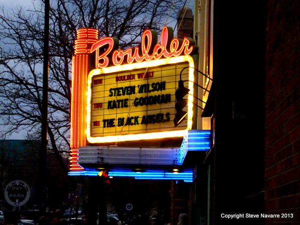 Steven Wilson Boulder Theater 5-6-13