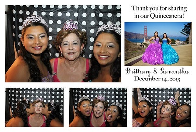 Brittany & Samantha's Photo Booth