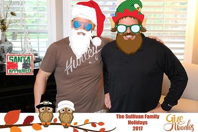 2017 Sullivan Family Thanksgiving