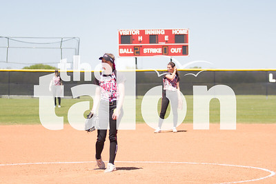 Lady Eagles vs. Krum (3-30-16)