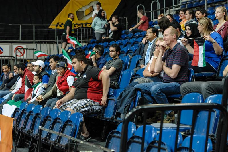Kuwait fans.