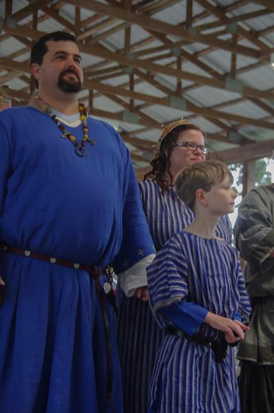 Gellis presented to Their Majesties
