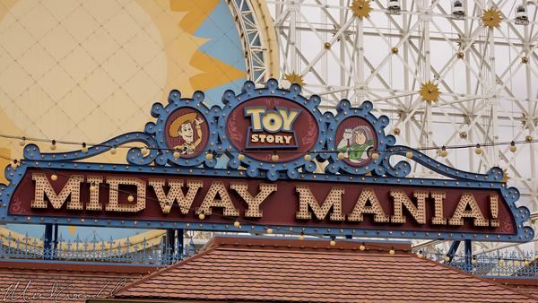 Disneyland Resort, Disney California Adventure, Paradise Pier, Paradise, Pier, Toy Story Midway Mania, Toy Story Mania, Toy Story