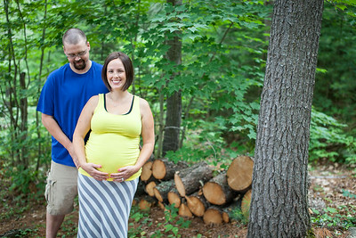 Crystal and Ryan Maternity