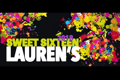 Lauren's Sweet 16 - September 28, 2018