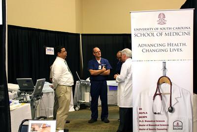 Ultrasound Institute at I-95 Health Fair