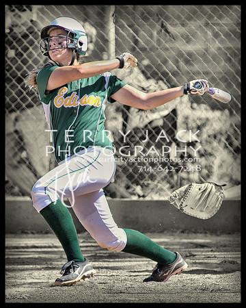 Edison @ Fountain Valley Varsity Softball