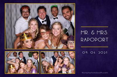 9/4/21 - Mr & Mrs Rapoport