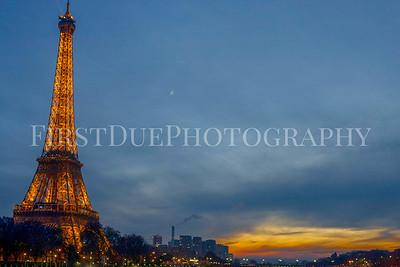 Paris at Night Dec 2015