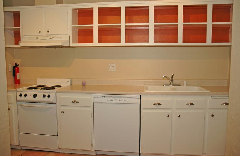 Closeup detail of kitchen...