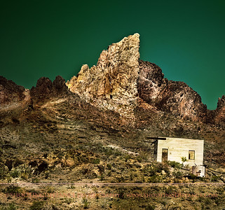 Abandoned Cinderblock House, near Oatman, AZ