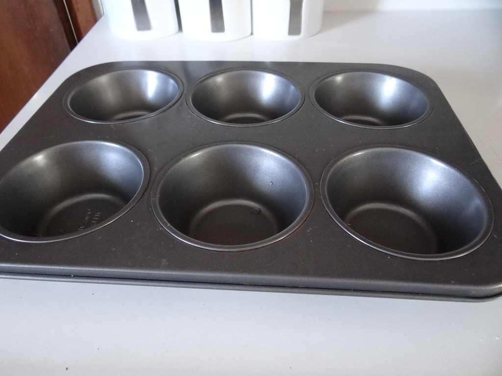 . I used a large muffin style pan.