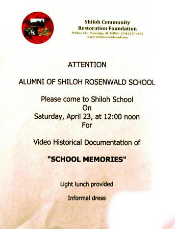 Shiloh-Rosenwald School Memories (2011)