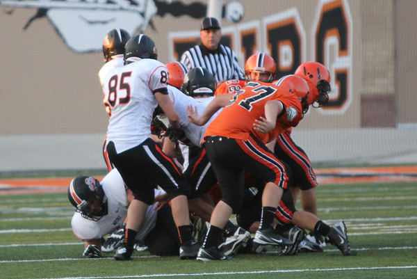 Football:  Wheelersburg Freshmen vs. Waverly 2013
