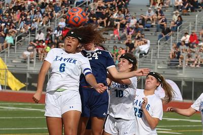 2016-2017 Girls Soccer - Xavier vs Desert Vista 2-11-17