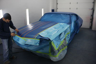 1970 Chevelle complete panel replacement and paint