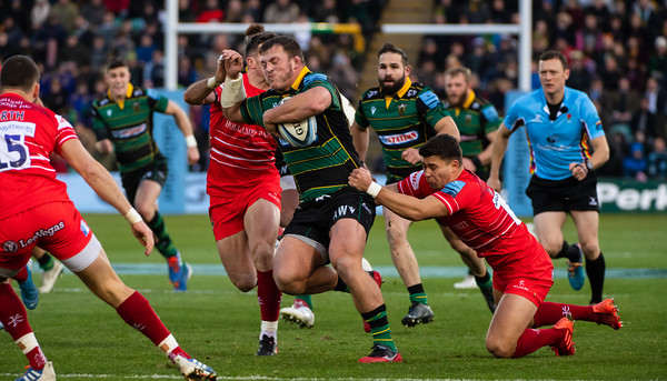 Northampton Saints vs Leicester Tigers, Gallagher Premiership, Franklin's Gardens, 30 November 2019
