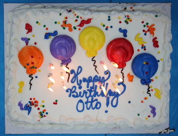 Super hero Otto's 65th Birthday