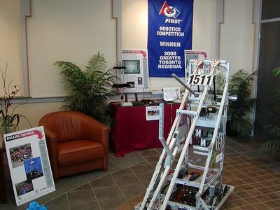 2005-05 Robot Demos at Harris Corp.