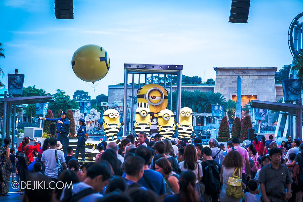 Universal Studios Singapore Park Update August 2017 - Minion Breakout Party FINAL