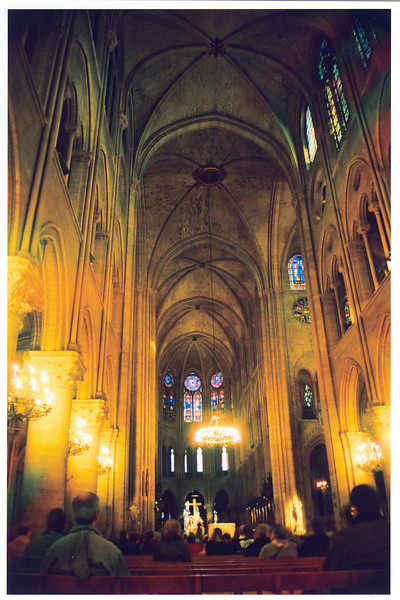Paris, France: Notre Dame Cathedral