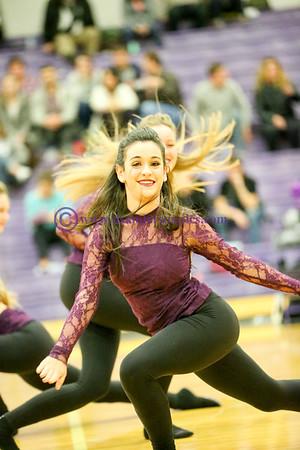 2016 01 19 RHS DANCE COMPANY HALFTIME ROUTINE