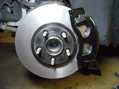 Sep 2011 brake job and caliper paint