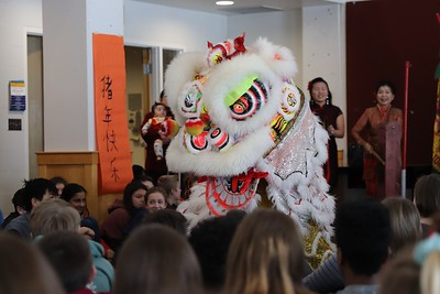 Middle School Chinese New Year assembly