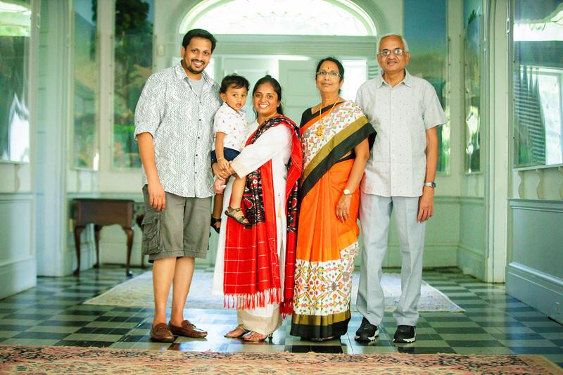 Deepthi-Amri Family shoot