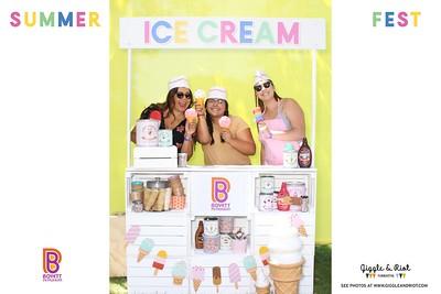 Boyett Company Picnic - Ice Cream Stand