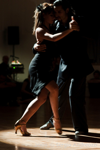 Black Milonga: Ismael and Maria performing