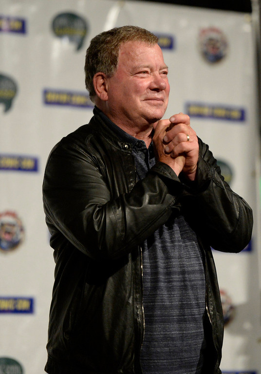 . Denver Comic Con ended its three day marathon with an appearance by William Shatner June 2, 2013 at the Colorado Convention Center. (Photo By John Leyba/The Denver Post)