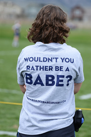 Boulder Babes vs. Salt City Slugs - Women's Rugby - 04/19/14