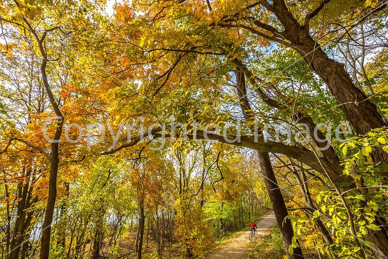 Fall Cycling - Missouri - Katy Trail